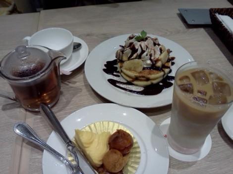 pancake dessert set