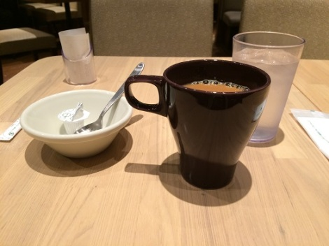 morning coffee dark brown